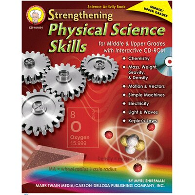 Strengthing Physical Science Skills CD CD-404094