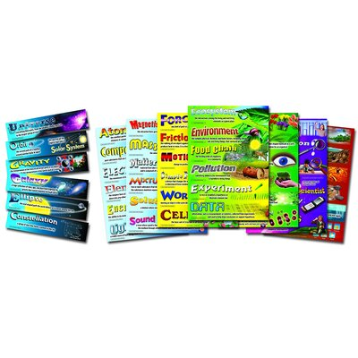 Science Vocabulary Bulletin Board Cut Out Set CD-410029