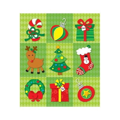 Christmas Prize Pack Sticker (Set of 4)