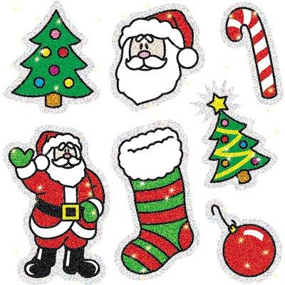 Dazzle Christmas Sticker (Set of 3)