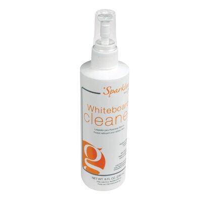 8 oz Spray Bottle of Sparkleen Whiteboard Cleaner - 12 Per Carton SPS8-12