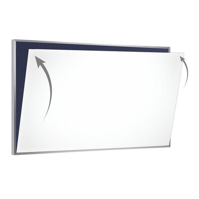 28 Gauge Porcelain Magnetic Whiteboard Sheet/Skin PSC-412-W