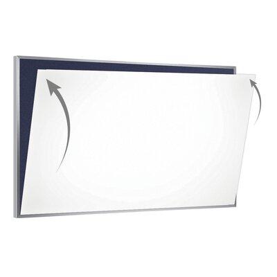 28 Gauge Porcelain Magnetic Whiteboard Sheet/Skin PSC-44-W
