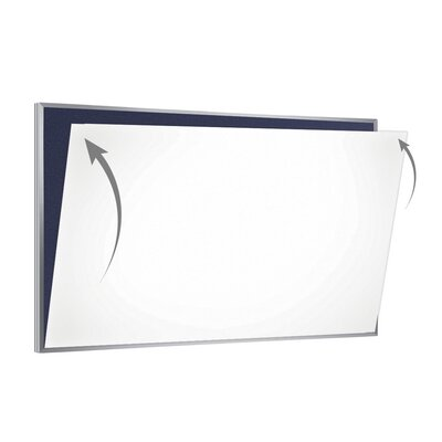 28 Gauge Porcelain Magnetic Whiteboard Sheet/Skin PSC-48-W