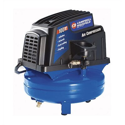 Campbell Hausfeld Electric Oil Free Tank Mounted 1 Gallon Air Compressor at Sears.com