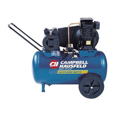 Campbell Hausfeld Electric Oil Lubricated Horizontal 20 Gallon Air Compressor at Sears.com