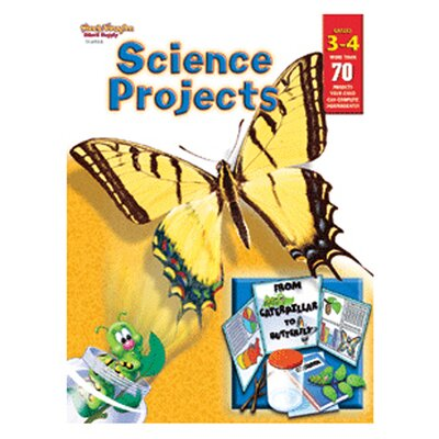 Science Projects Grade 3 - 4 Book SV-69108