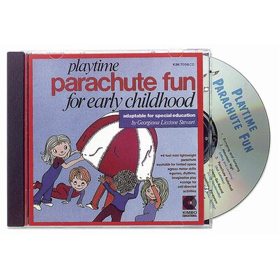 Playtime Parachute Fun Ages 3-8 CD KIM7056CD