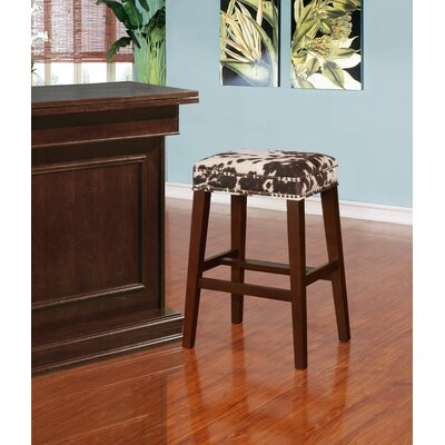 Bloomer 30.5 Walnut Bar Stool