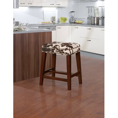 Bloomer 24.5 Traditional Walnut Bar Stool