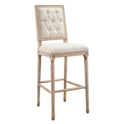 Patillo 25 Bar Stool Upholstery: Natural