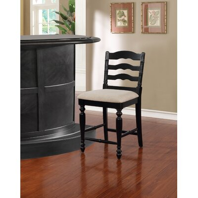 Sonya 24 Bar Stool Finish: Antique Black
