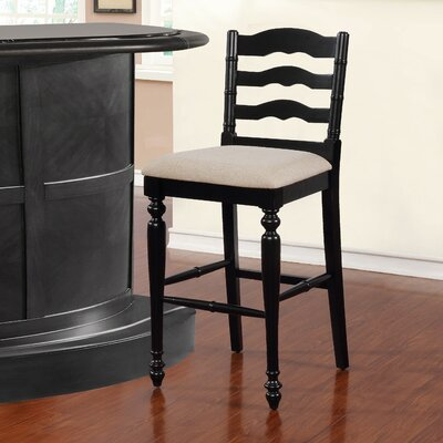 Sonya 30 Bar Stool Finish: Antique Black