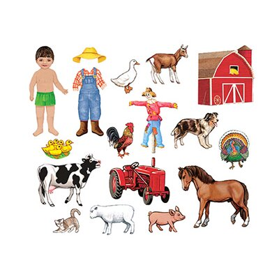 My Farm Friends Bulletin Board Cut Out Set LFV25703