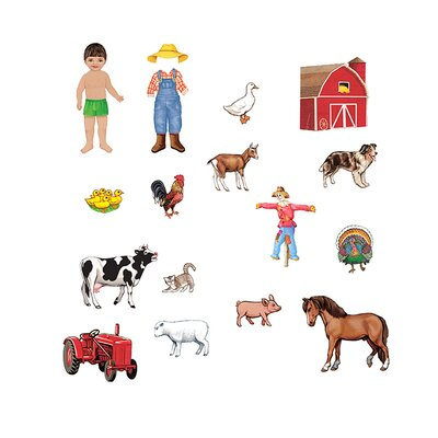 My Farm Friends Bulletin Board Cut Out Set LFV25703