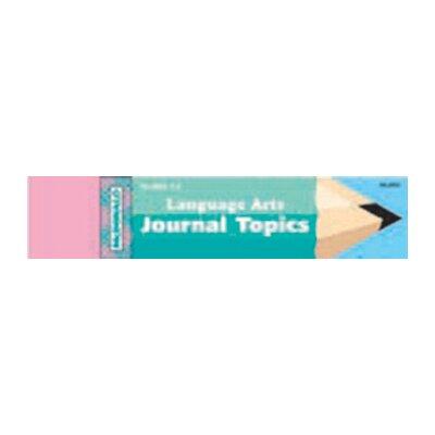 Journal Language Arts 1-3 Book MC-J805