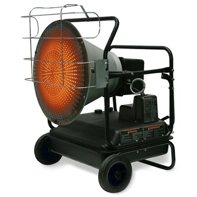 Kerosene 125,000 BTU Radiant Portable Space Heater