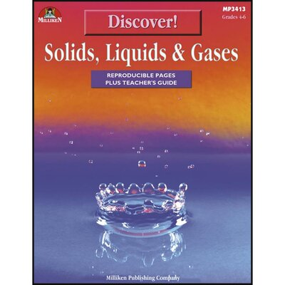 Discover Solids Liquids and Gases Book M-P3413