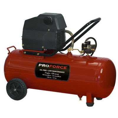 Powermate 17 Gallon Proforce Horizontal Portable Air Compressor with Extra Value Kit