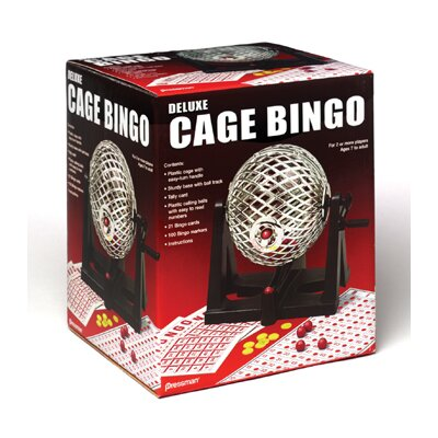 Pressman Toy Cage Bingo at Sears.com