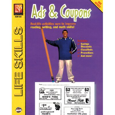 Ads and Coupons Book -  Remedia Publications, REM431