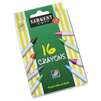 Sargent Art Crayons 16 Count Tuck (Set of 7) SAR550916