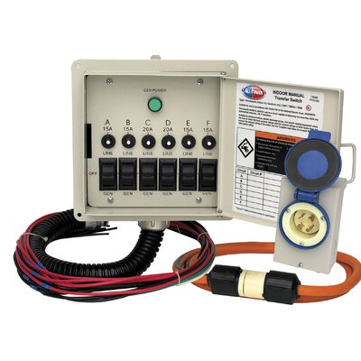 All Power America Indoor Manual Transfer Switch Kit at Sears.com