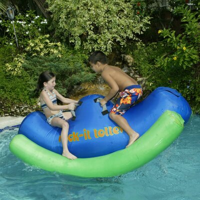 Buy Low Price Aviva Rock-It Totter Pool Inflatable – with DuraSkin (17008)