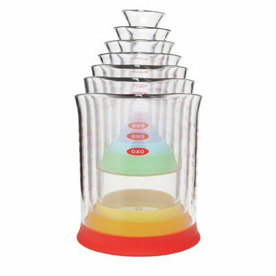 OXO Good Grips 7 Piece Liquid Measuring Beakers Set 11124400