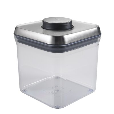 SteeL Big Square Pop 76.8 Oz. Food Storage Container
