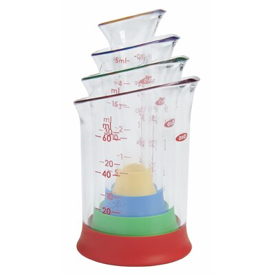 OXO Good Grips 4 Piece Mini Measuring Beaker Set 1245380