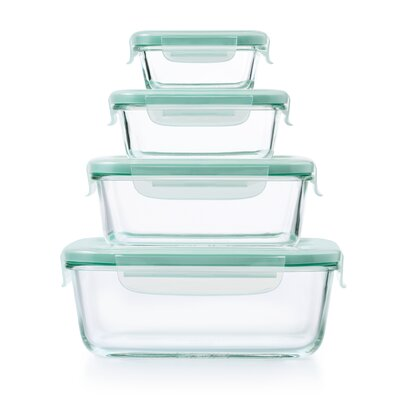 Good Grips Snap Glass 4 Container Food Storage Set 11179400