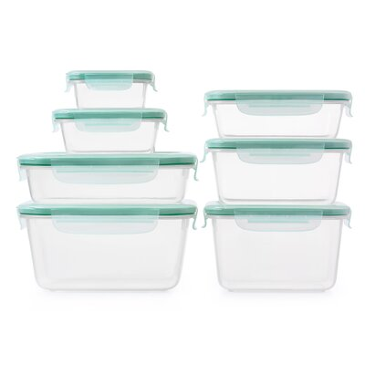 Good Grips SNAP Plastic 8 Container Food Storage Set 11179700