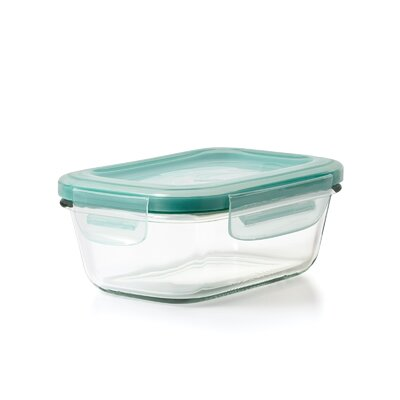 Good Grips 12.8 Oz. Snap Glass Rectangle Container 11174200
