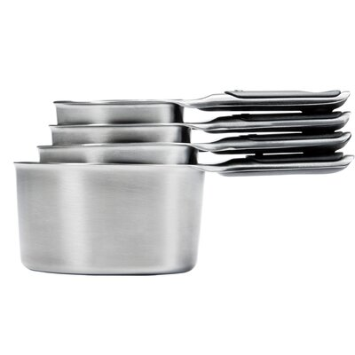 Good Grips 4-Piece Stainless Steel Measuring Cup 11132000