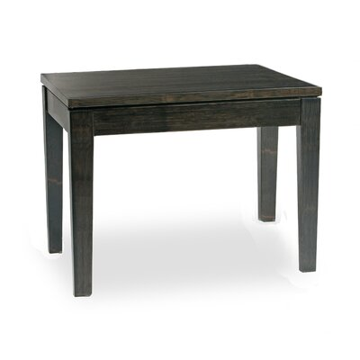 Brazil Chow End Table Color: Ebony/black
