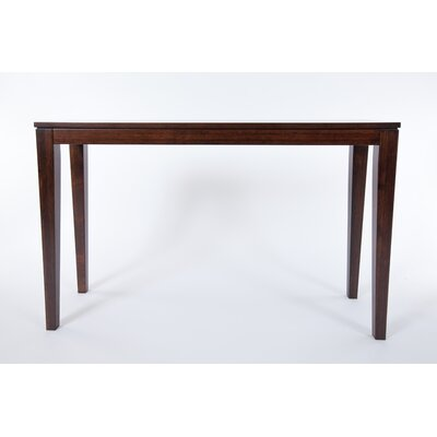 Brazil Bamboo Console Table Finish: Java/Chocolate Brown