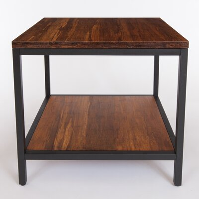 Betances Square End Table Color: Koa