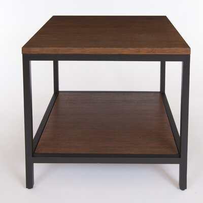 Betances Square End Table Color: Grey