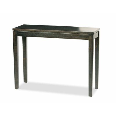 Brazil Bamboo Console Table Finish: Ebony