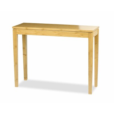Brazil Bamboo Console Table Finish: Honey