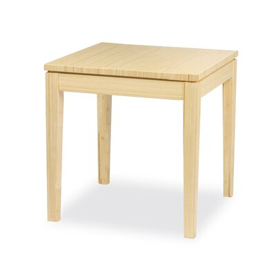 Brazil Bamboo End Table Finish: Beach
