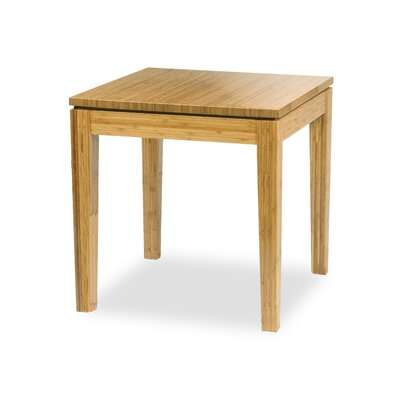 Brazil Bamboo End Table Color: Honey