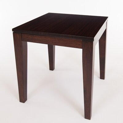 Brazil Bamboo End Table Finish: Java/Chocolate Brown