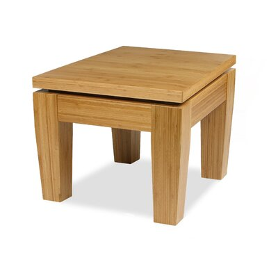 Rio Bamboo End Table Color: Honey/Caramel