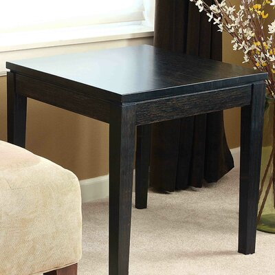 Easy financing Brazil Bamboo End Table Finish: Ebo...