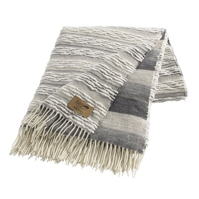 Strato Italian Blanket Color: Gray