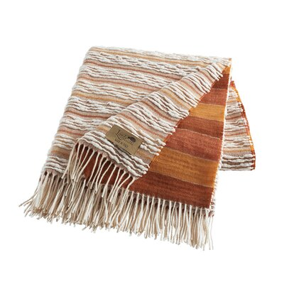 Strato Italian Blanket Color: Orange