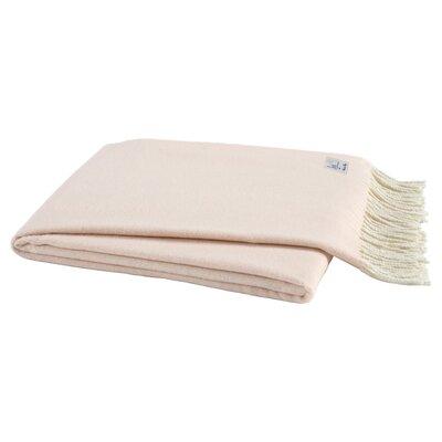Herringbone Throw Blanket Color: Pink Salt