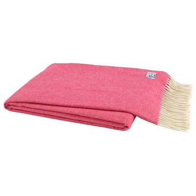 Herringbone Throw Blanket Color: Cosmo Pink